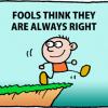 AFORIZMI: Nemoguće je utvrditi tačan broj budala.  Svaki se dan rađaju