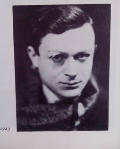 Tristan Cara, fotografija iz 1920. godine