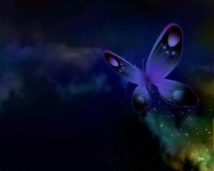 butterfly-space-wallpaper
