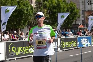 Sprint za kraj BG maratona 2014